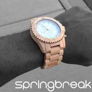 SpringBreak Wood Watches