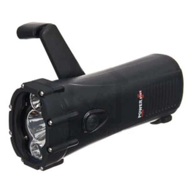 POWERplus Shark - Dynamo powered flashlight/mobile charger