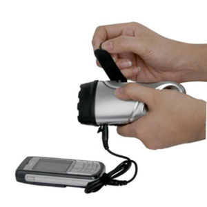 POWERplus Dolphin - Dynamo powered torch & mobile phone charger