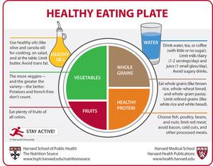 Harvard's Healthy Eating Plate
