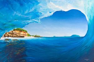 'Island Escapades' by Eco Artist @scottydenholm