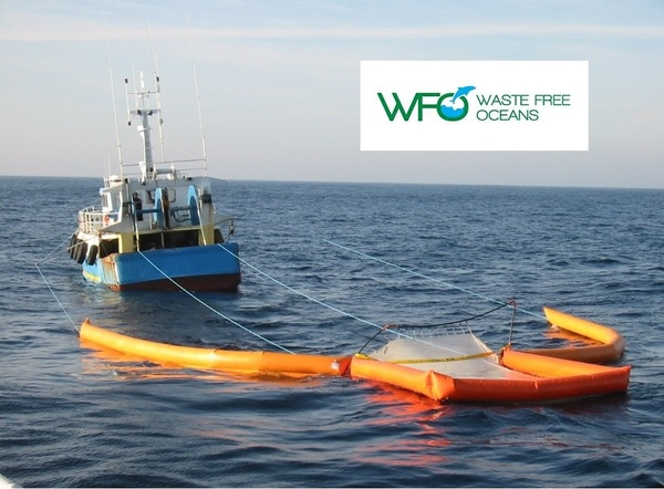 Waste Free Oceans project - cleaning up floating marine debris
