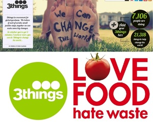3things @3thingsproject - Changing the world, 3things at a time