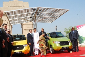 $15K electric car launched in India