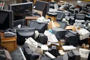 Toxic Piles of eWaste which no one wants