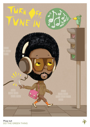 'Tune In' by @Andyillustrator (Poster 19 of 23)