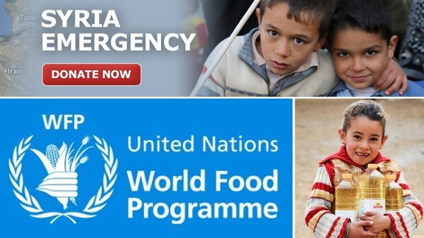 World Food Programme - helping fight hunger in Syria