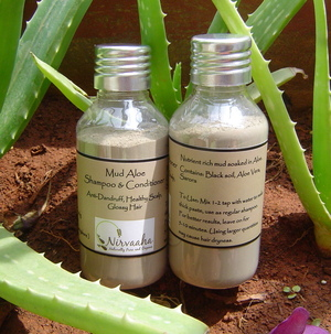 Nirvaaha Mud Aloe Shampoo & Conditioner
