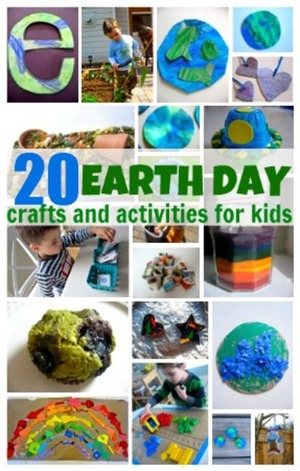 20 Earth Day Crafts & Activities For Kids by @NoFlashCards