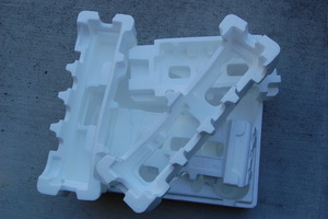 Styrofoam STILL used in packaging! How unsustainable.