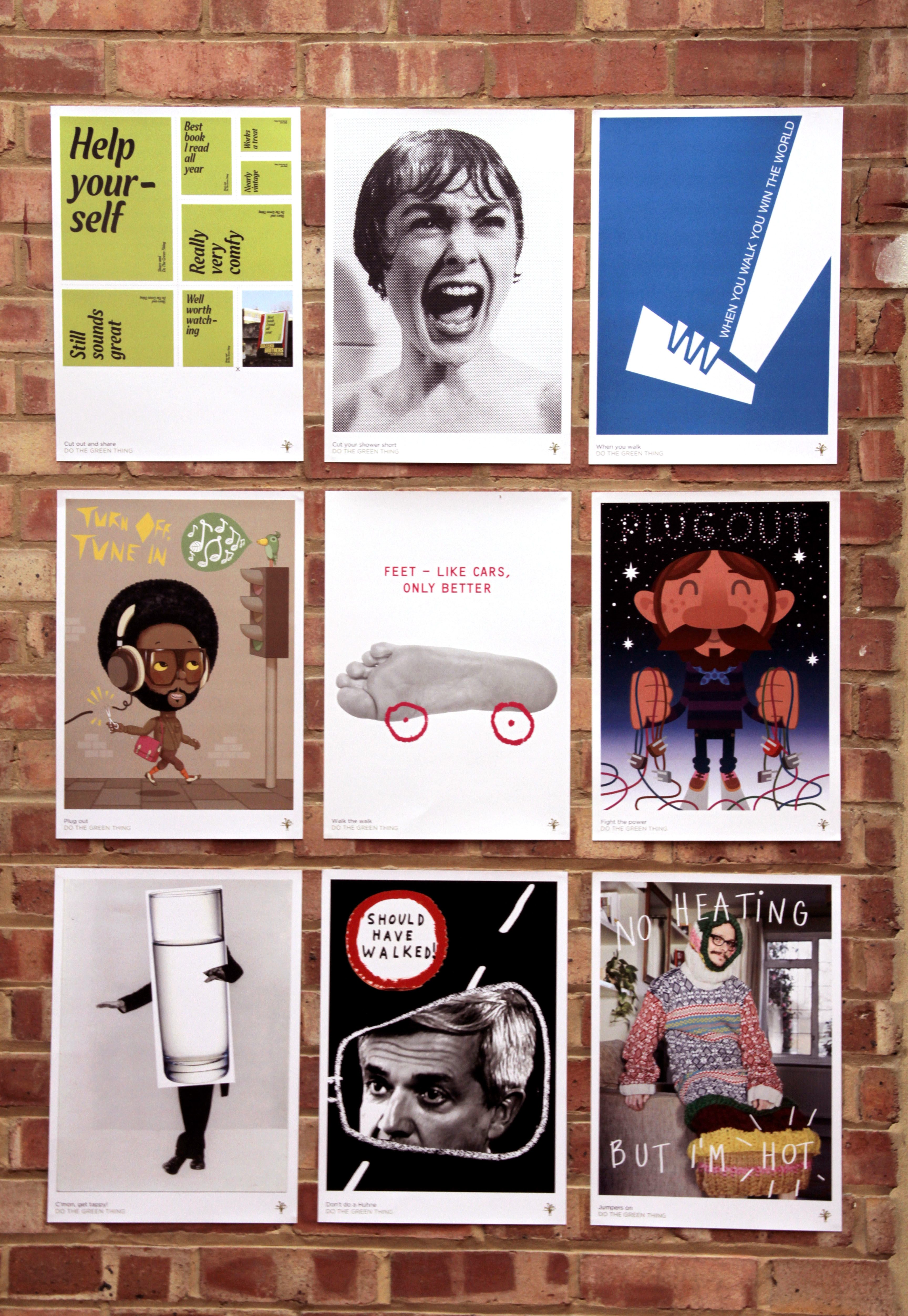 23 Posters Campaign by @Dothegreenthing
