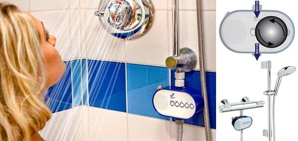 Shower-powered Radio