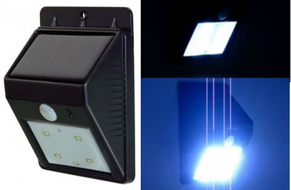 POWERplus Cat - Solar powered PIR sensor LED light
