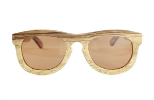 Sunglasses and Accessories Made from Reclaimed Wood