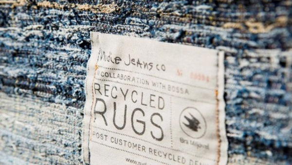 Junked Jeans reborn as Recycled Denim Rugs