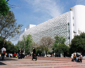 This Beautiful Mexico City Building Eats The City's Smog