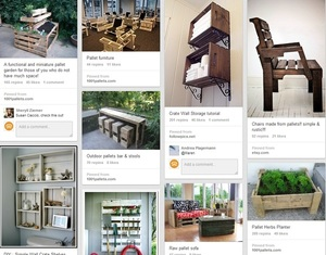 Pinterest Board on Pallets use