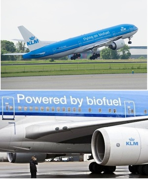 Recycled cooking oil powers transatlantic flights via BBC.com