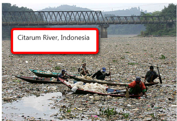 Indonesian river or is it a river?
