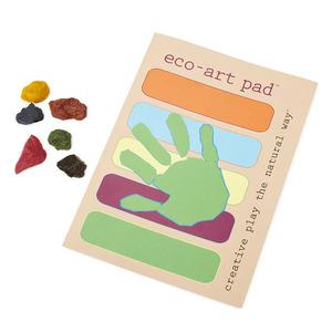 Eco-Crayons and Eco-Art Pad Set