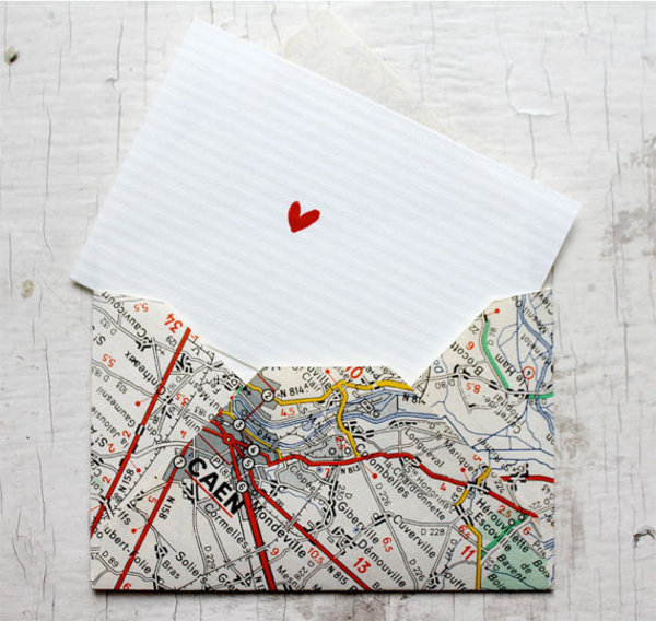 The old paper maps, except for the Marauder's map, can be upcycled to make some cool stuff