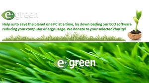 ePlusGreen @ePlusGreen - software reduces PC energy usage