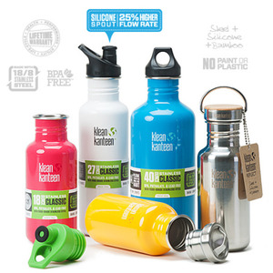 Klean Kanteen Classic: Stainless Steel, BPA-free Water Bottles