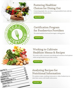 United States Healthful Food Council Announces REAL Certification for Restaurants