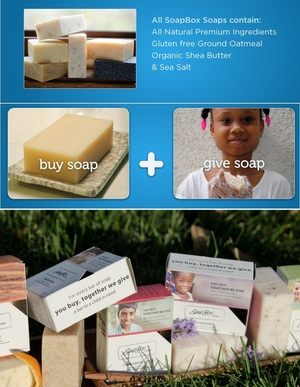 SoapBox Soaps @SoapBoxSoaps - Doing good by selling good soaps