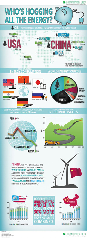 INFOGRAPHIC: Who's Hogging All the Energy?