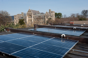 Georgetown University Goes Solar with SolarCity