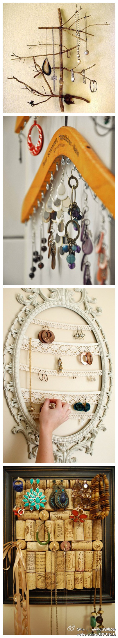 Cool Ideas on Upcycled Accessory Hanger