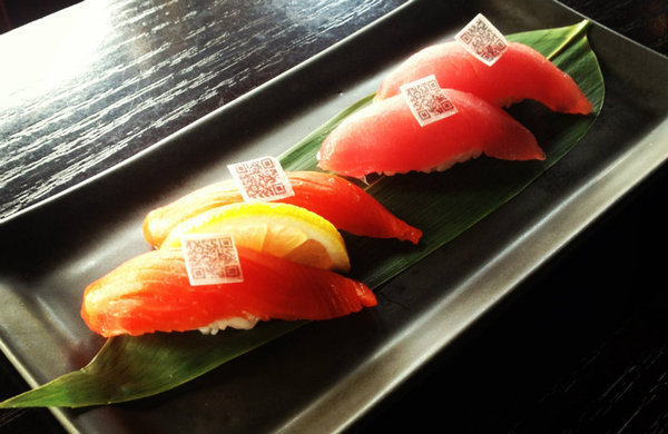 Diners Track Sushi Sustainability with Edible QR Codes - Earth911.com