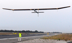Solar Impulse, Sun-Powered Plane, Completes Test Flight Above SF Bay Area via via @HuffPostGreen