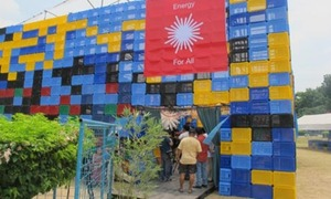 Earth Day 2013: Philippines unveils building made from plastic bottles