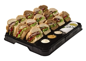 New SUBWAY Catering Trays Made From 95% Post-Consumer Recycled Material