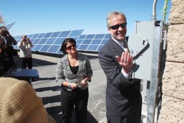 Las Vegas flips the switch on 15,000 solar panels