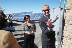 Las Vegas flips the switch on 15,000 solar panels