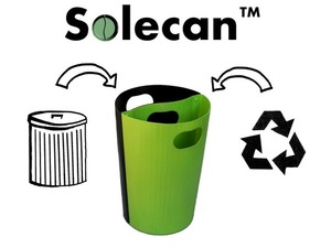 Two-in-one trash can removes your excuse not to recycle via @grist