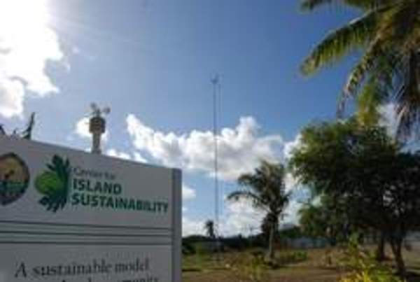 Wind turbine added to University of Guam