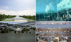 Waterworld: How America's cities will look if sea level rises predicted by scientists prove correct