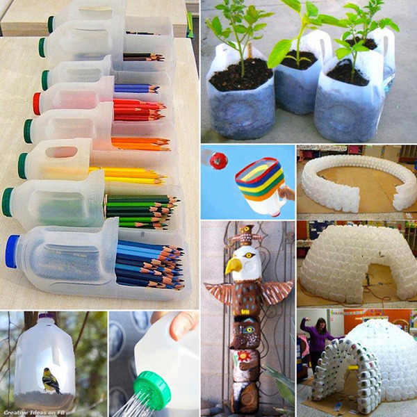 45 ideas of how to recycle plastic bottles designrulz for Creative use of plastic bottles