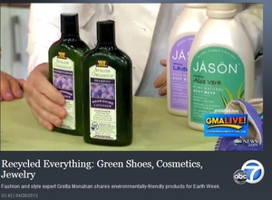 Video: Recycled Everything: Green Shoes, Cosmetics, Jewelry
