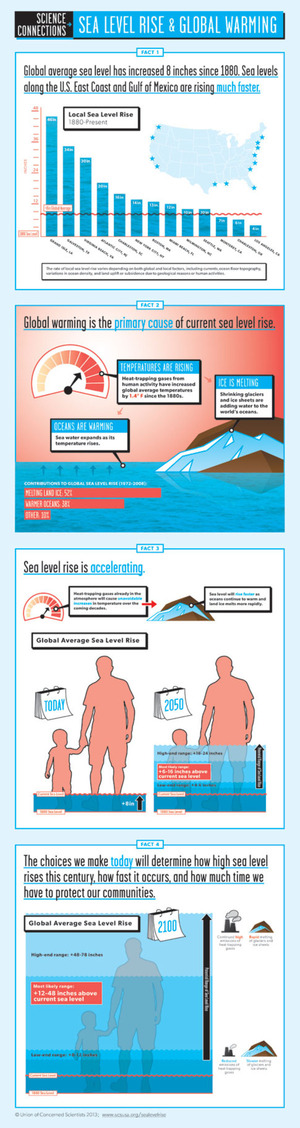 Infographic: Sea Level Rise and Global Warming | UCSUSA