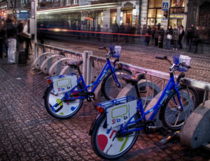 Bike sharing goes global via @grist