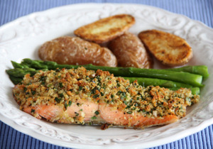 Loved this Sustainable Seafood Recipe on SeafoodWatch website - salmon fillets...