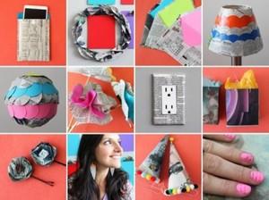 8 creative ways repurpose newspaper