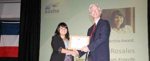 Association for the Advancement of Sustainability in Higher Education (AASHE) Sustainability Award