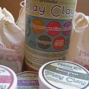 5 Scents of Gluten Free Natural Play Clay
