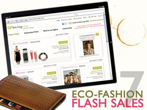 7 Eco-Fashion Flash Sale Websites for Everyday Green Deals | Ecouterre